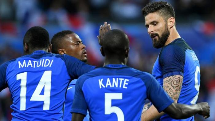Live Streaming Prancis vs Islandia