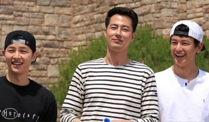 Song Jong Ki, Jo In Sung dan Im Ju Hwan dalam Running man