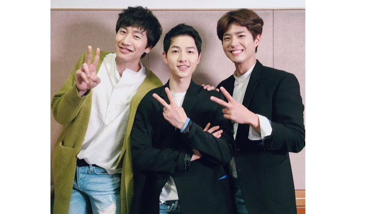Song Jong Ki, Park Bo Gum, dan Lee Kwang So