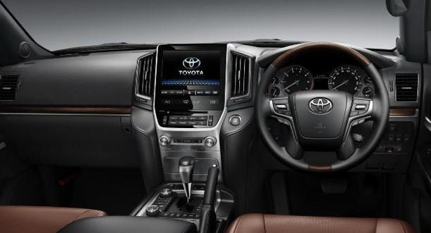Interior Toyota Land Cruiser