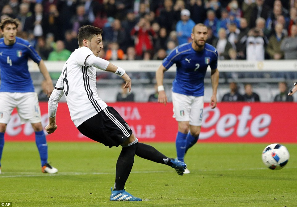Cuplikan Pertandingan Jerman vs Itali